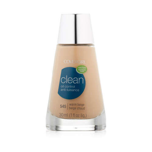 CoverGirl Clean Oil Control Anti-Luisance Liquid Warm Beige 545 Front