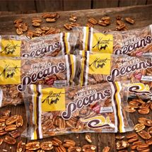 Mammoth Pecan Halves - (5) 16 oz. Bags