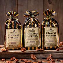 3 8oz bags of glazed pecans