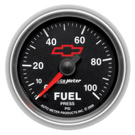"2-1/16"" Fuel Pressure, 0-100 psi, Full Sweep Electrical"