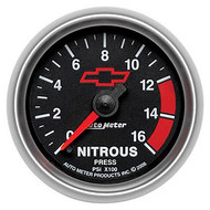 "2-1/16"" Nitrous, 0-1,600 psi, Full Sweep Electrical"