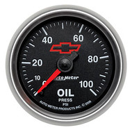 "2-1/16"" Oil Pressure, 0-100 psi, Mechanical"
