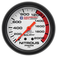 "2-5/8"" Nitrous, 0-2,000 psi, Mechanical"