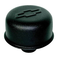 "Air Breather Cap - Push-In, 3"" Diameter - Black crinkle"