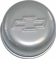 """Air Breather Cap - Push-In, 3"""" Diameter - Metallic gray"""