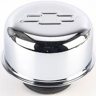 "Air Breather Caps - Twist-On, 3"" Diameter – Chrome"