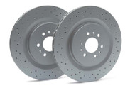 Rear Rotors - 2004-07 Cadillac CTS-V