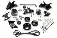 Serpentine Accessory Drive Belt System With Air Conditioning