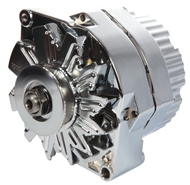 Chrome Alternator; New; 1-Wire; 100 Amp