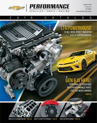 2016 CHEVROLET PERFORMANCE CATALOG