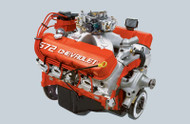 ENGINE ASM,ZZ572 DELUXE 620 HP W/850 HOLLEY CARB