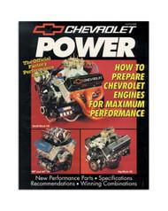 MANUAL,CHEV POWER BOOK