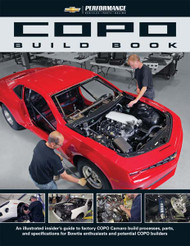 BOOK,H/PRF (2012 COPO CAMARO BUILD BOOK)