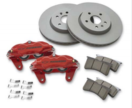 Chevrolet Performance Brake Package w/ Front Calipers -  RH Fixed Bridge Caliper