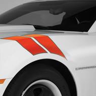 Decal/Stripe Package - Fender Hash Marks - Stripe Package - Orange