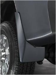 Splash Guards - Molded Rear Set, Black (GBA)