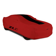 Vehicle Cover - Outdoor - Red with ZL1 Logo - For Use on Convertible Models