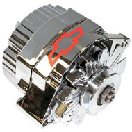 100% New Chrome Alternators - 80 amp, 1-wire