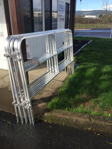 Portable Corral Systems For Horses : New aluminum portable corral panels hitchin post