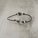 Aurora Leather Bracelet