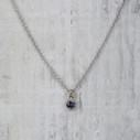 Naples Necklace - Sapphire