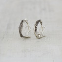 Silver Unity Hoops - Small