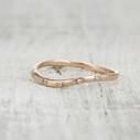 diamond twig wedding ring