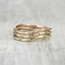 contoured diamond wedding ring
