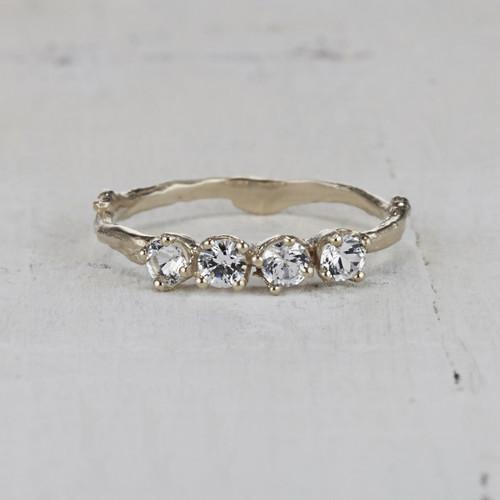 Garland   Four  Stone  Ring