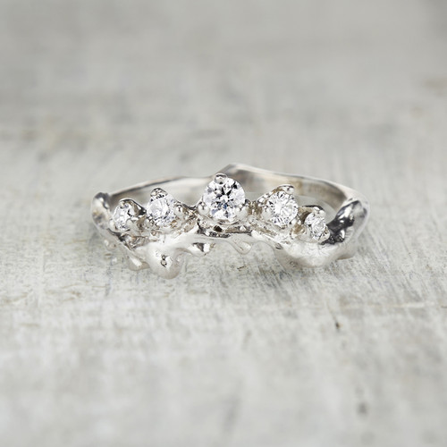 Mason Crown Ring - Diamond