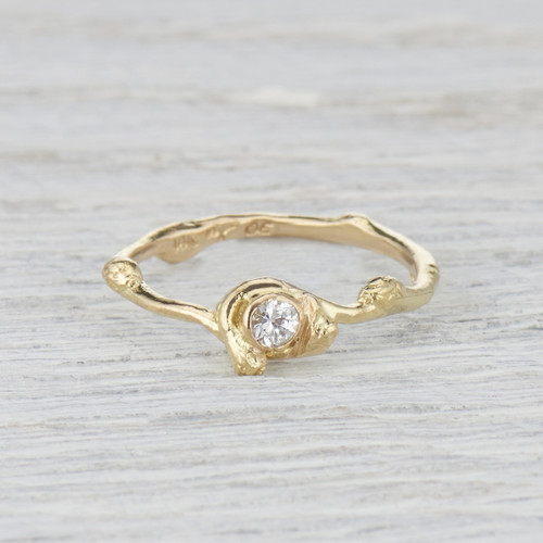 diamond solitaire ring for her