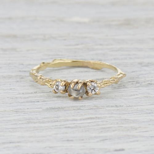 Naples Three Stone   Ring