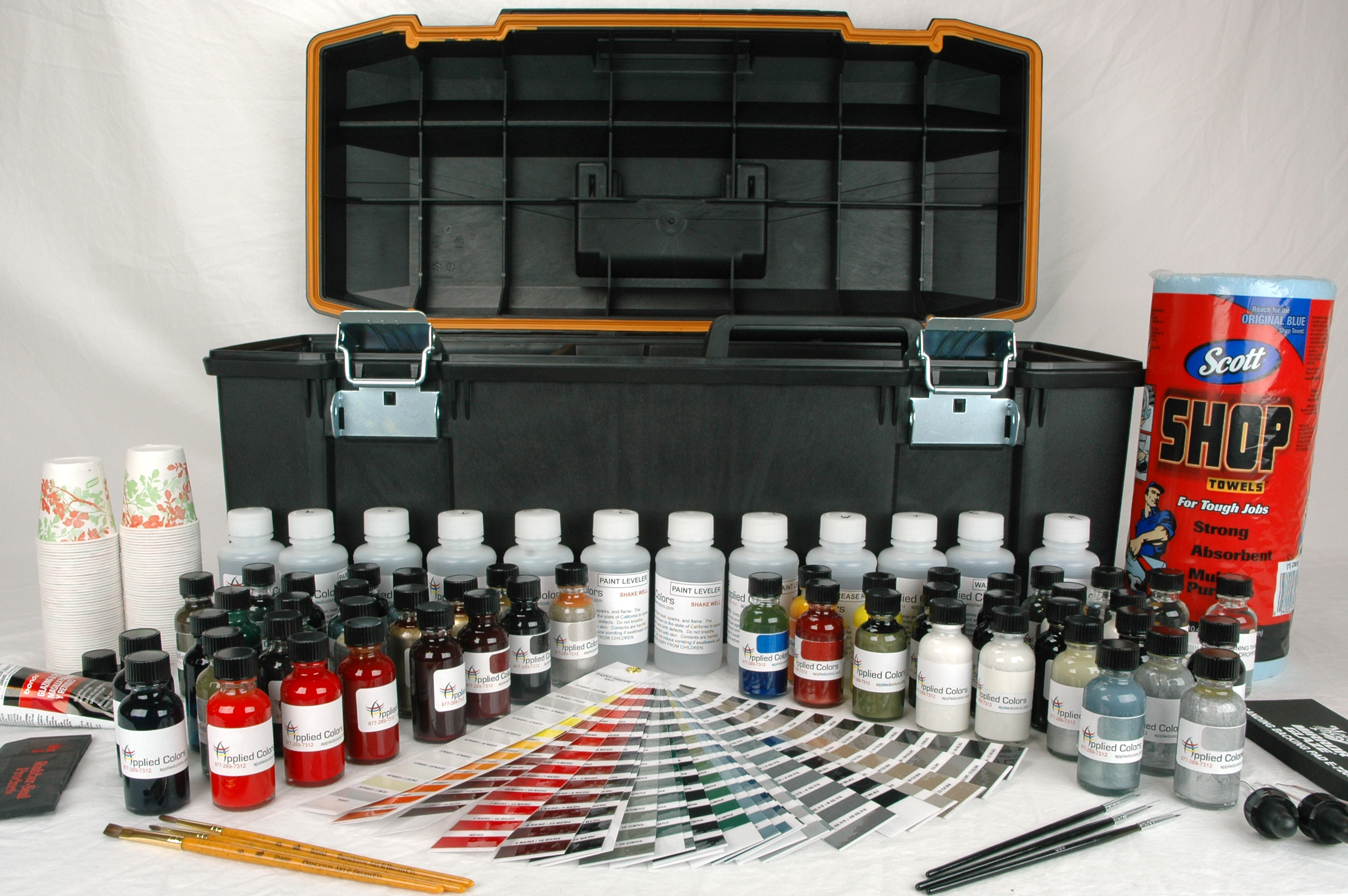 auto detailing equipment paint touch system