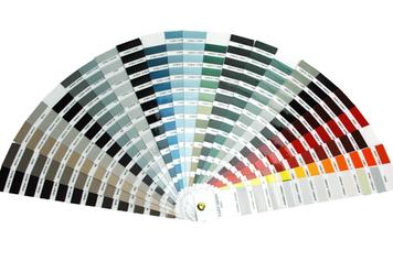 """""""Color Deck"""": ScratchOut Paint Touch Up System Color Selector"""