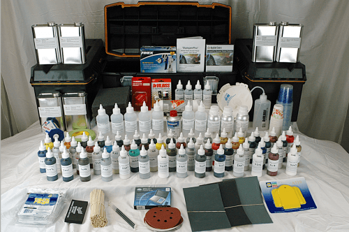 paint touch up system auto detailing equipment applied
