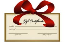 The car detailers guide to selling gift certificates applied colors use a professional gift certificate template yelopaper Gallery