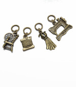 """NEW! """"Sewing Set"""" Stitch Markers set of 4"""