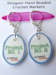 Instructional Stitch Markers - Project 1 and 2