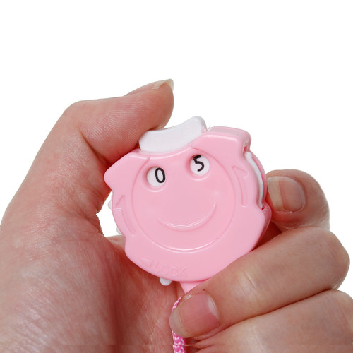 Large handheld clicker Row Counter - Pink