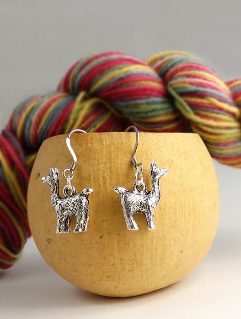 Sweet Alpaca Earrings