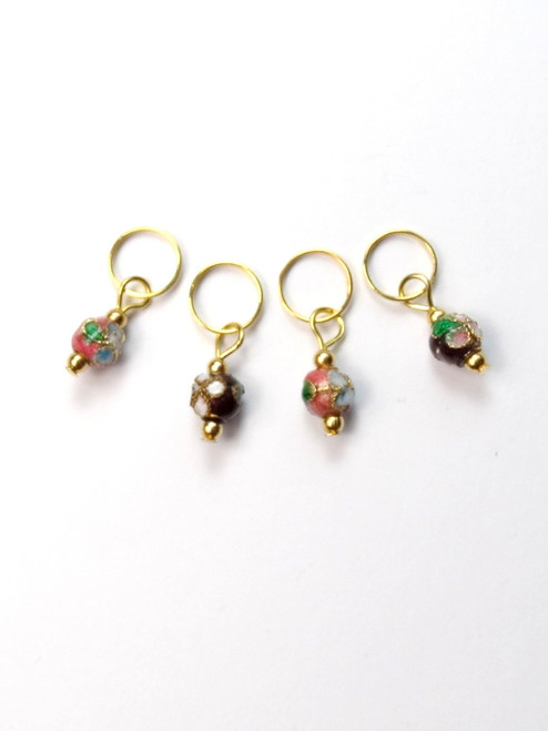 small cloisonne stitch markers