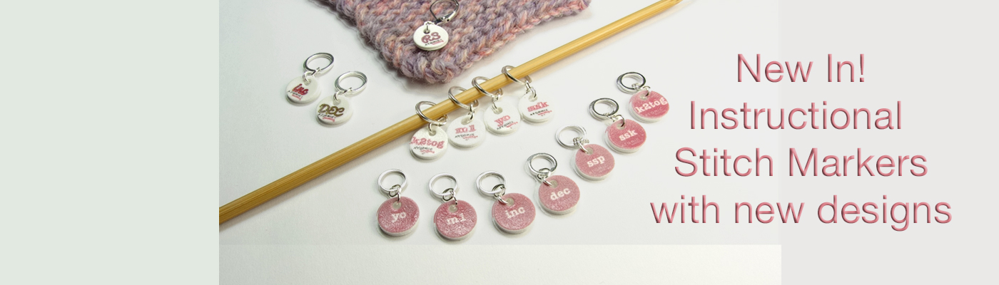 Instructional Stitch Markers