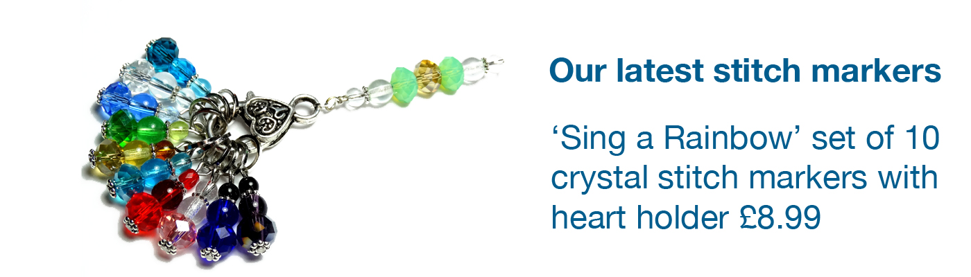 Crystal Knitting Stitch Markers