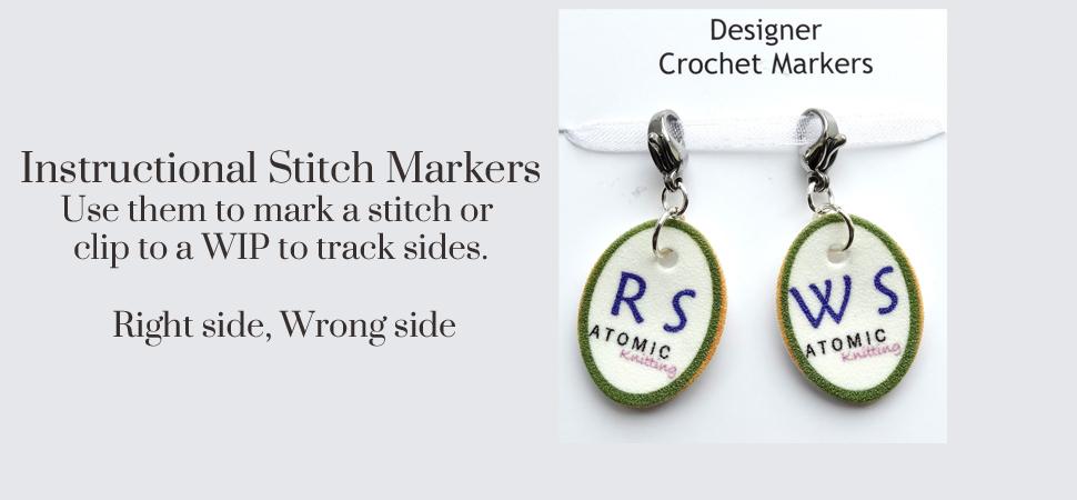 Instructional Stitch Markers