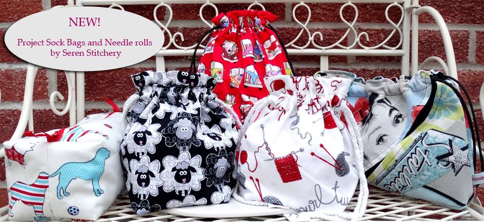 Seren Stitchery Knitting Bags