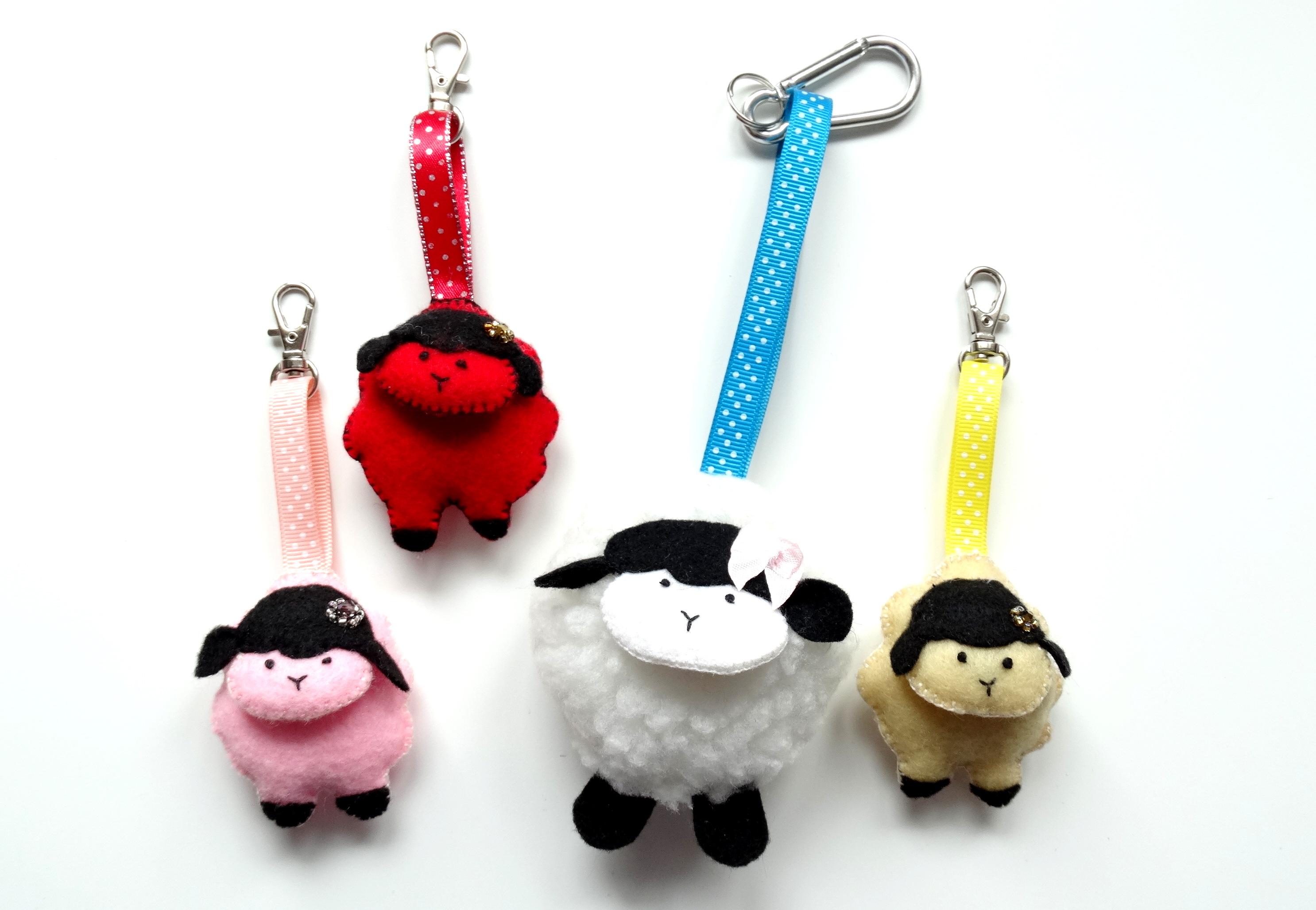 Sheep Keyrings