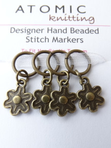 Flowers 7mm Stitch Markers