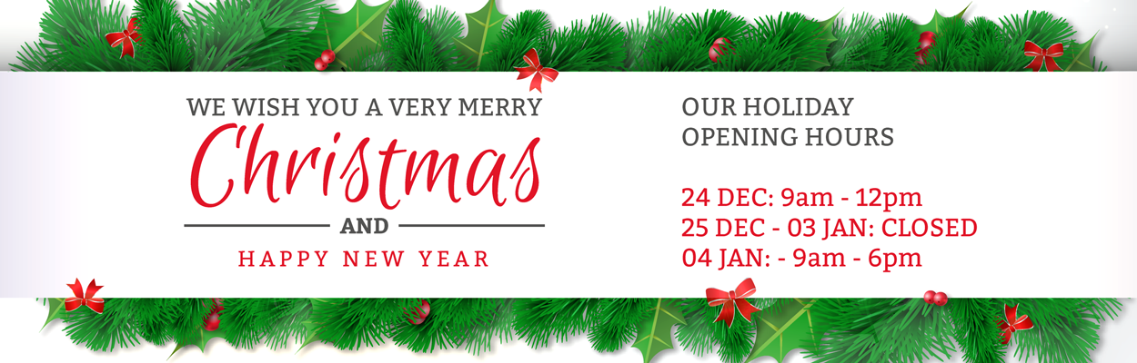 Our opening hours during Christmas holidays - KNX Shop Online
