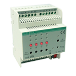 LED Dimming Actuator 4fold, 350mA-700mA - KA/D 04.L1.1