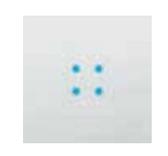4 Blue Bright Leds  230V  AC